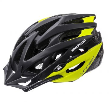 KASK ROWEROWY METEOR MV29 UNREST black/green