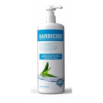 BARBICIDE HAND DISINFECTION do skóry i rąk 1000ml
