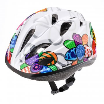 KASK ROWEROWY METEOR KS07 colourful flowers