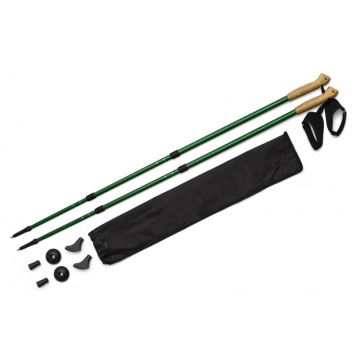 Kijki Nordic Walking W309-C Solid green 50% carbon